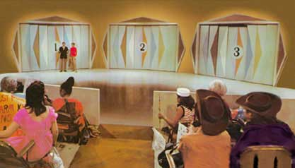 Monty Hall hosted a game show called Let\u0027s Make a Deal. He presented his game show contestant with three doors numbered 1 2 and 3. & PARADOXES OF PROBABILITY